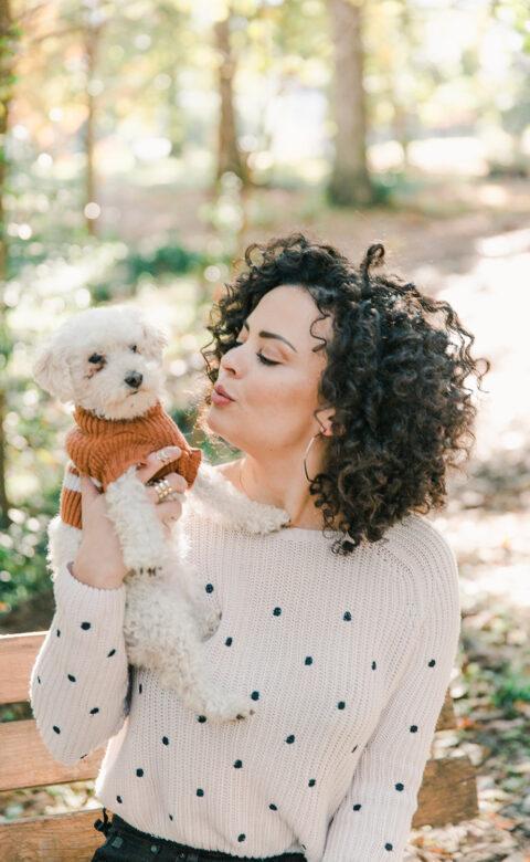 eco-friendly dog sweater