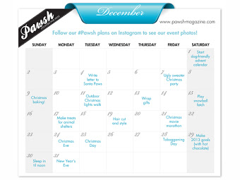 Pawsh Calendar of Events