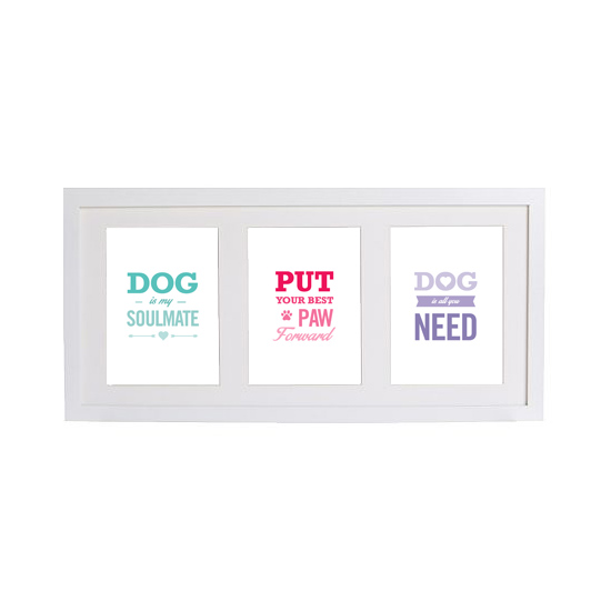 Dog-Valenteine's-Prints-Framed