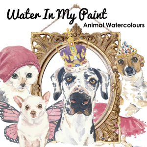 Water In My Paint Custom Pet Portraits