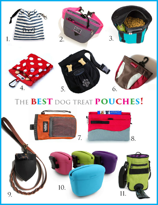 The Best Dog Treat Pouches