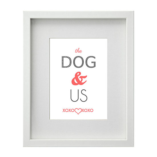 Dog quote print