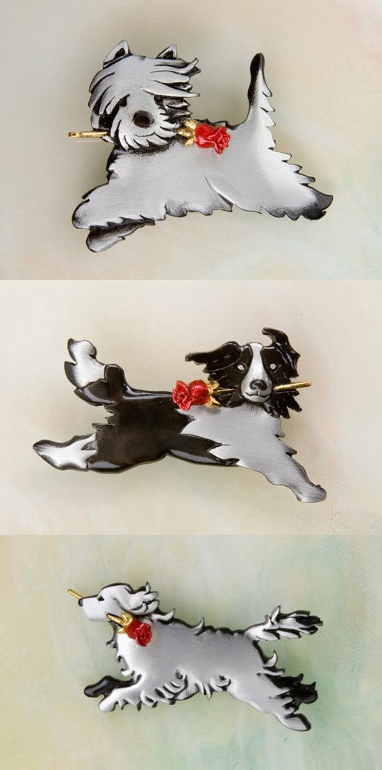 dog-jewelery-pewter-dog-pins